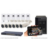 12 Camera Value IP CCTV System
