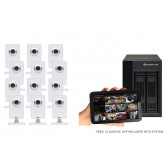 12 Camera Value Wireless IP CCTV System