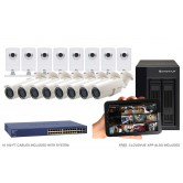 16 Camera Value IP CCTV System