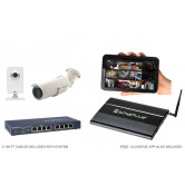 2 Camera Value IP CCTV System