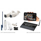 2 Camera Premium Wireless IP CCTV System