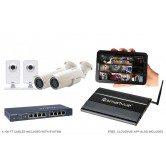 4 Camera Value IP CCTV System