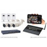6 Camera Value IP CCTV System