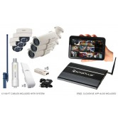 6 Camera Premium Wireless IP CCTV System